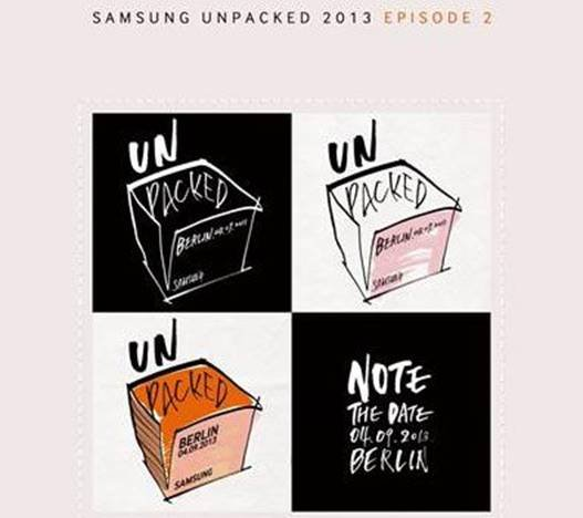 三星Galaxy Note 3传闻汇总:9月4日见分晓