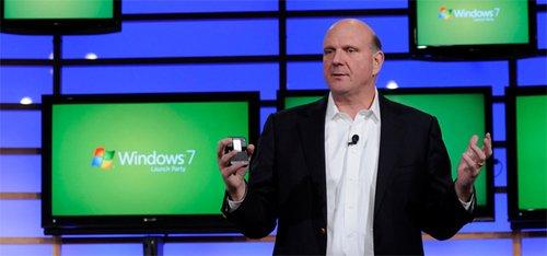 鲍尔默将在CES 2012演讲 带来Windows8