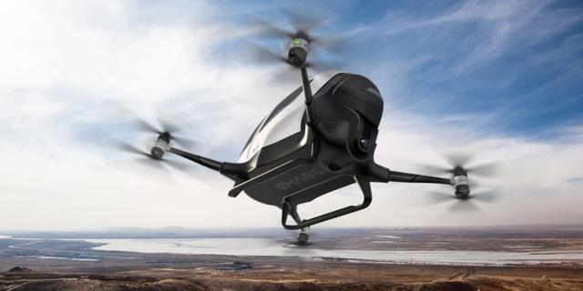 中国造无人机就要开始载客了 迪拜富豪们要尝鲜