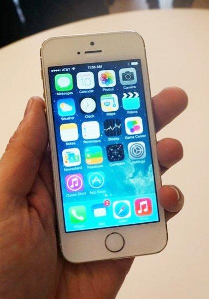 苹果iPhone 5s真机组图