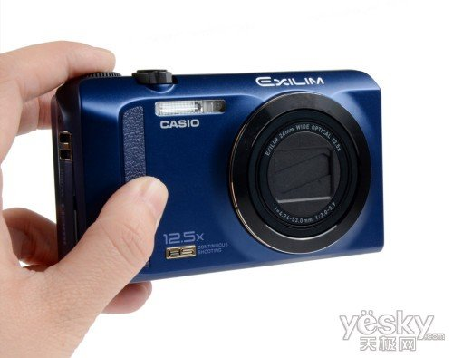 高速创意再升级 卡西欧ZR200相机首测