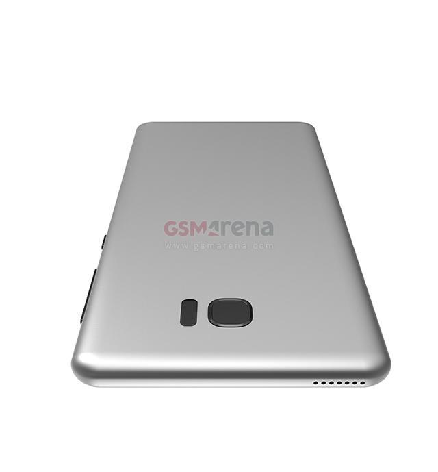 三星S8渲染图再曝光 只有曲面屏版本支持双摄