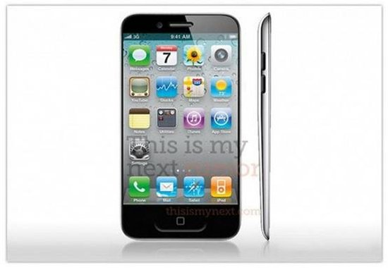 苹果iPhone5大猜想 机身更薄屏幕更大