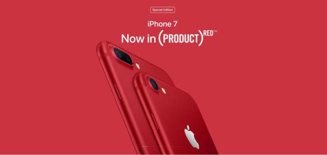 国行红色iPhone 7为何只字不提Product Red?