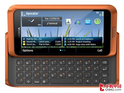 诺基亚E7橙色版仅需2999元 侧滑全键盘