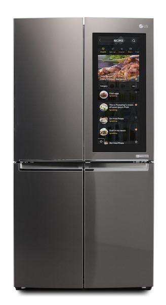 用冰箱上网?这款冰箱自带大触摸屏能运行win10