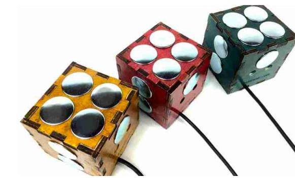 3D立体MIDI键盘设备问世 能精准感受按键力度
