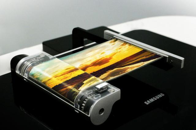 三星又搞出了黑科技 0.3mm的屏幕能弯折卷曲