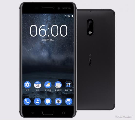 真情怀?Nokia 6预订量24小时超25万 可0元预定