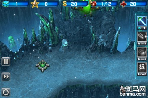 塔防中的星际争霸 iphone银河防御战2试玩