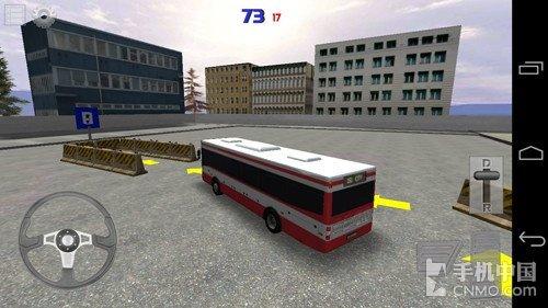 驾校除名自学成才 安卓游戏3D巴士泊车试玩