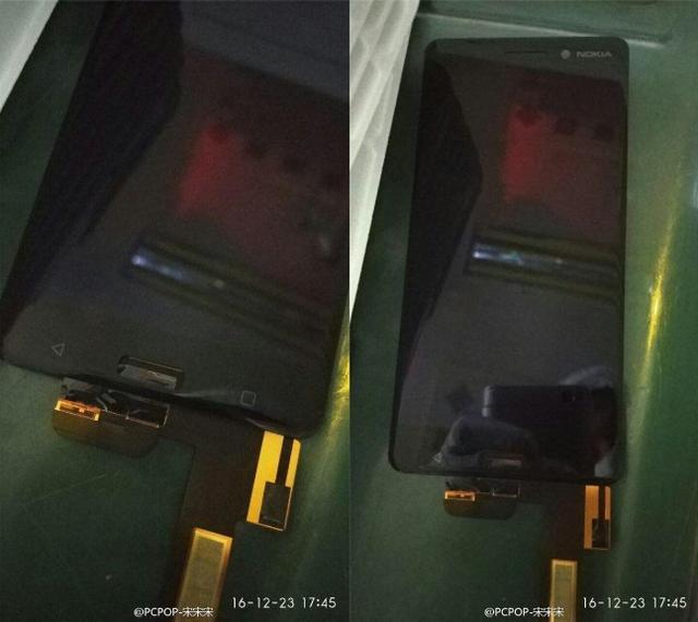 诺基亚新机谍照曝光 采用正面指纹识别设计