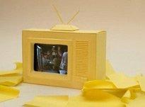 瞬间变身老式电视机