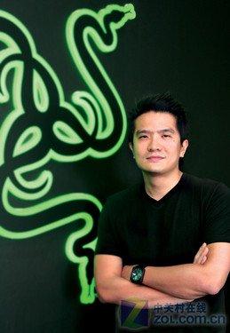 雷蛇创始人CEO兼首席玩家 陈民亮介绍