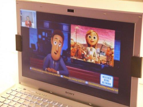 索尼推出神奇屏贴 让任意本本变裸眼3D