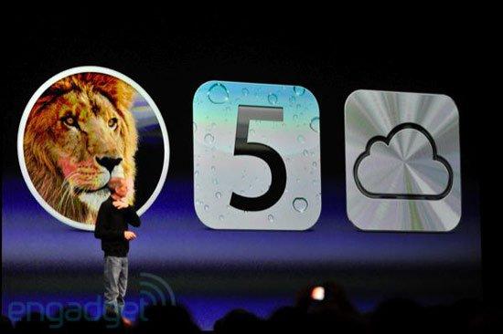 乔布斯现身WWDC 发布iOS5、lion、iCloud