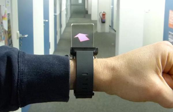 把谷歌眼镜变成增强现实手表是更好的主意?