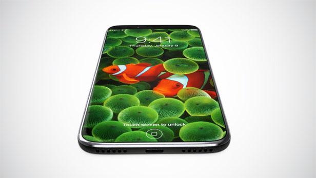 这iPhone 8设计图超酷 正面除了屏幕啥都没有