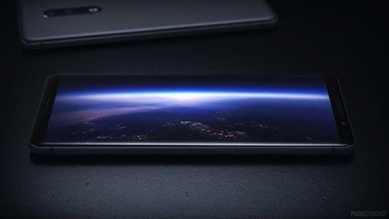 诺基亚9概念设计出炉  比三星S8还惊艳