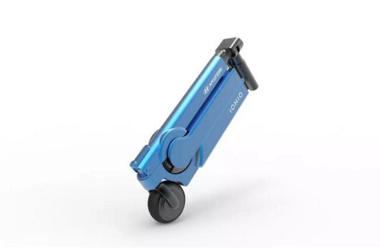 现代概念踏板车亮相CES 为解决Ioniq续航焦虑问题