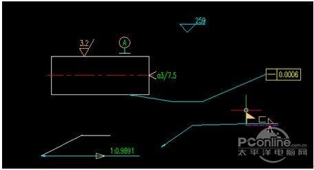 浩辰cad2012精度教程之超级编辑v精度cad2010角度机械标注