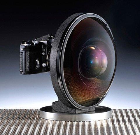 尼康6mm鱼眼镜头现身伦敦 标价10万镑