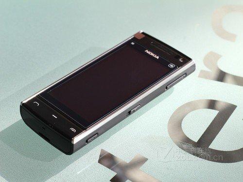 直板音乐智能机 诺基亚X6仅售1180元