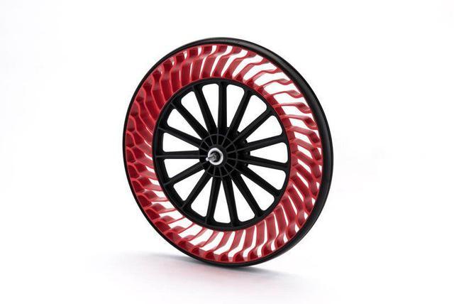 这个自行车轮胎不用打气 彻底摆脱漏气尴尬