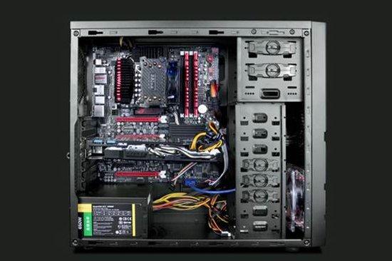 电脑主机内部结构图解_电脑主机内部结构图