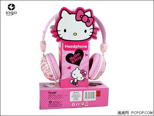 """让耳朵""""粑""""起来 最浪漫耳机Hello kitty热卖"""