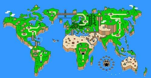 40个充满创意的世界地图