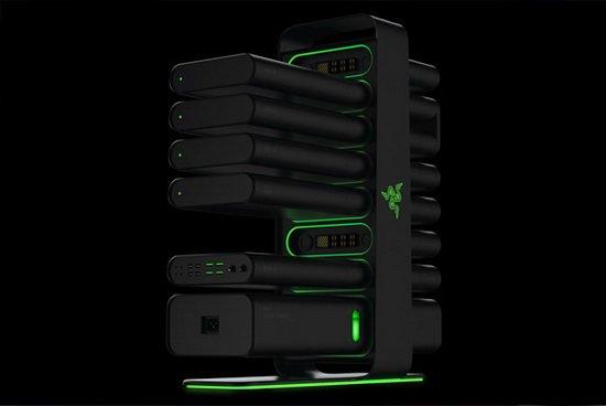 2014十大最酷PC游戏设备:雷蛇模块化PC在列