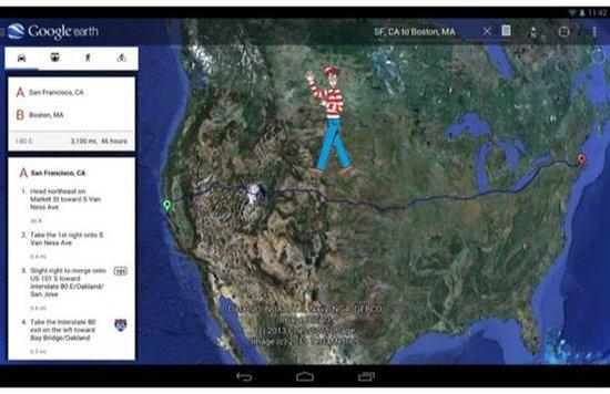 android版谷歌地球更新 首次将街景引入移动平台