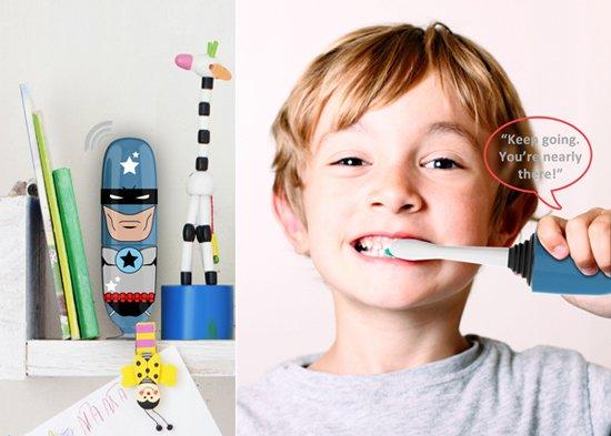 創新應用第19期:檢查/改變兒童刷牙習慣的牙刷