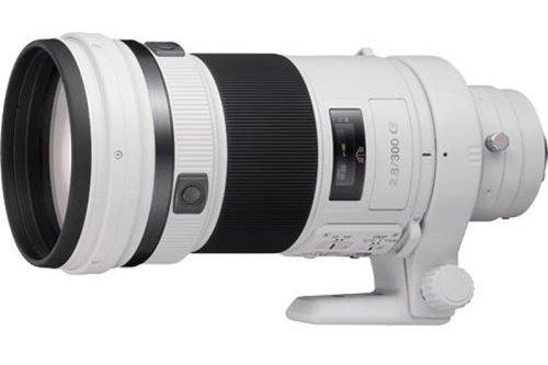传索尼8月发布新款专业300mm G镜头