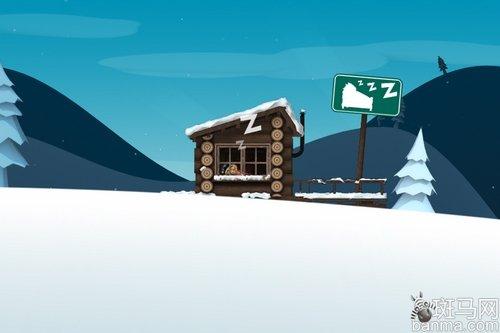 耳目一新的体育游戏iPhone滑雪大冒险游戏保龄球图片