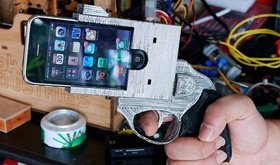 iPhone手枪外壳