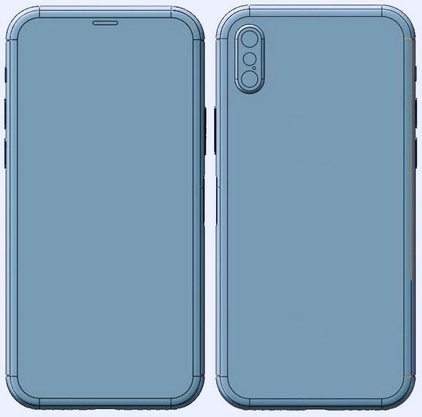 iPhone 8生产模具图纸曝光 外形差不多就这样了