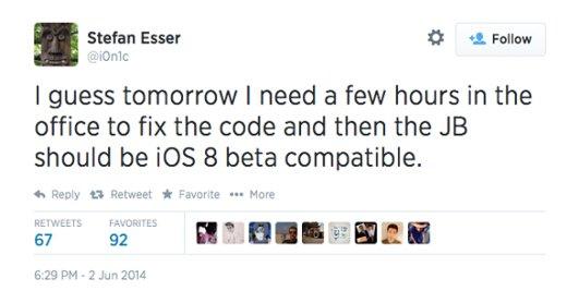 發布僅兩天 黑客揚言iOS8測試版可越獄