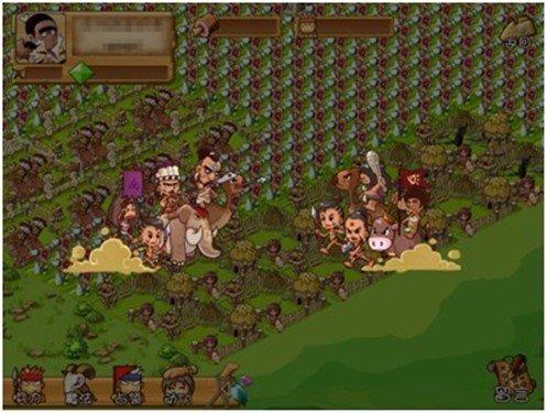 《部落战争》独具特色的战争系统填补了手机游戏交互的空...