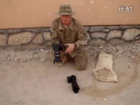 视频:美军宾得相机环境密封性能测试