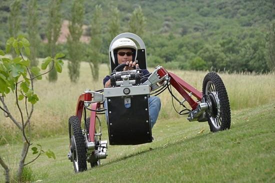 电动轮车四轮成人汽车大越野