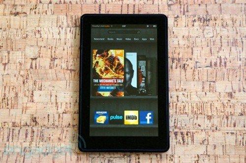 亚马逊第二代平板七月将上市 对决谷歌
