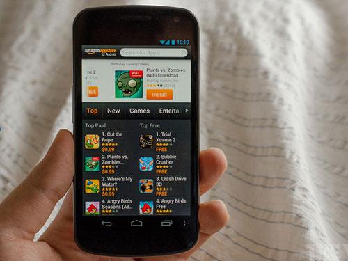 传亚马逊开发安卓系统手机 富士康代工