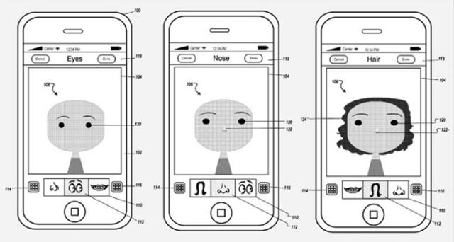 苹果获自定义头像创建工具专利 但好像在哪用过