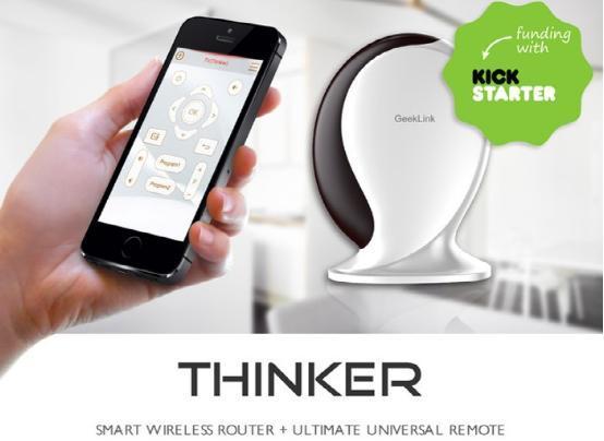 Thinker可让智能手机控制家中所有电器