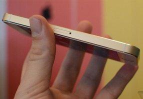 iPhone 5s新增的金色版本