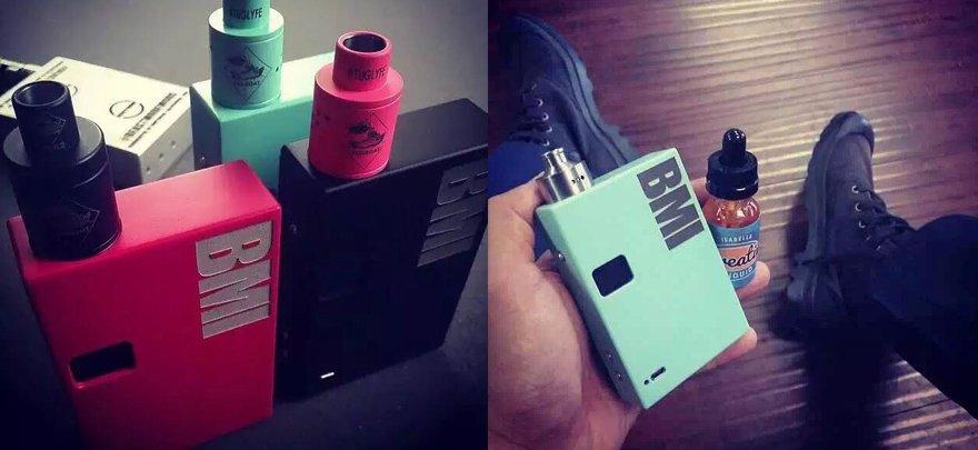 BMI调压盒+Tug Boat V.2滴油雾化器