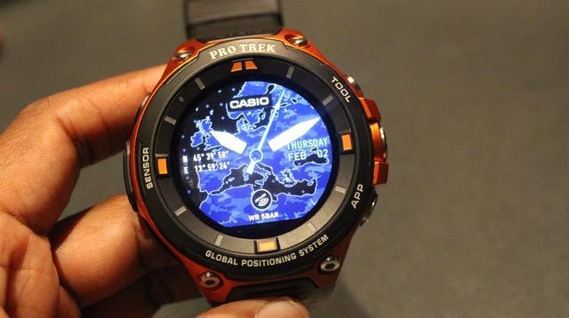 卡西歐戶外智能手表上手 不考慮續航的話很完美