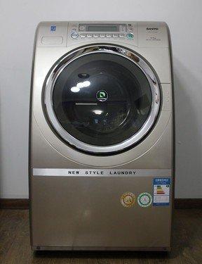 图注:三洋斜式滚筒xqg65-l903bhx洗衣机
